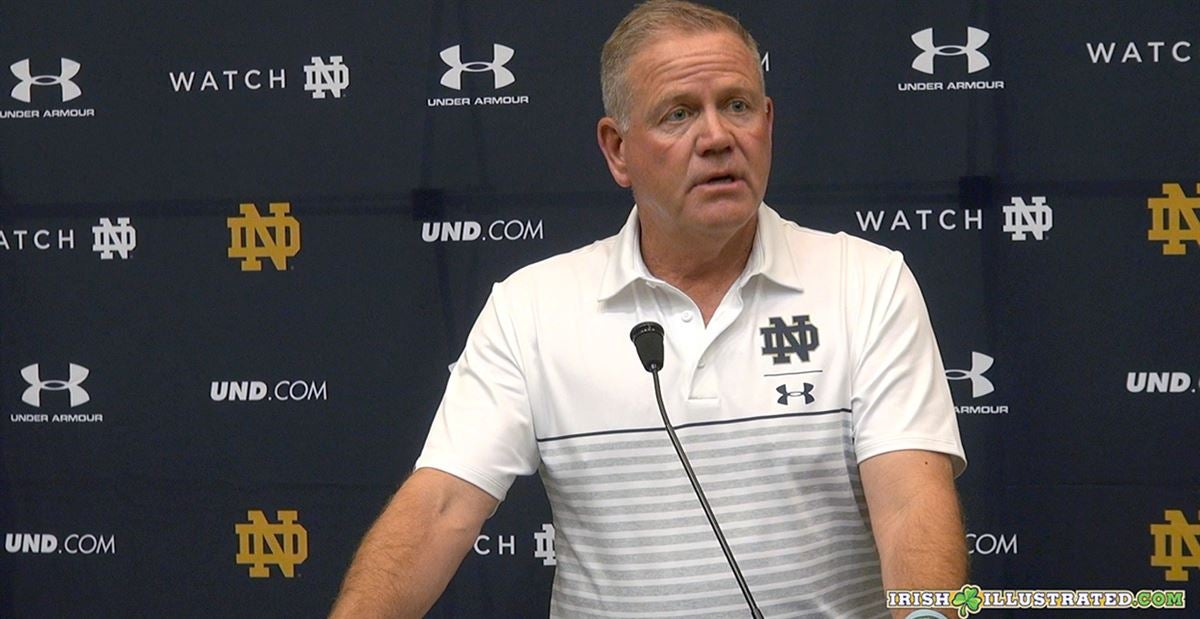 Here's Quick-Hitters from Brian Kelly's Sunday teleconference
