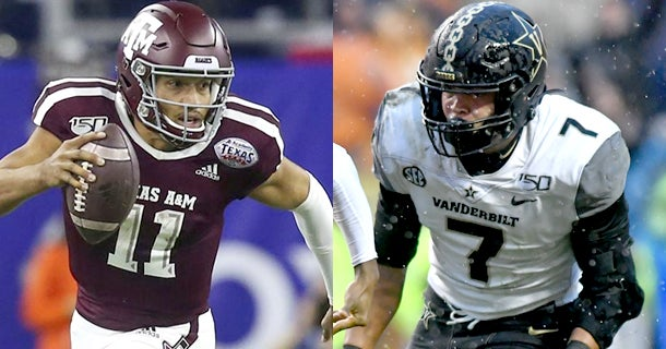 How to watch No. 10 Texas A&M vs. Vanderbilt, streaming link