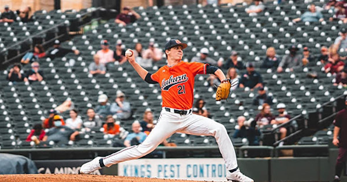 Auburn's Bright named SEC Pitcher of the Week