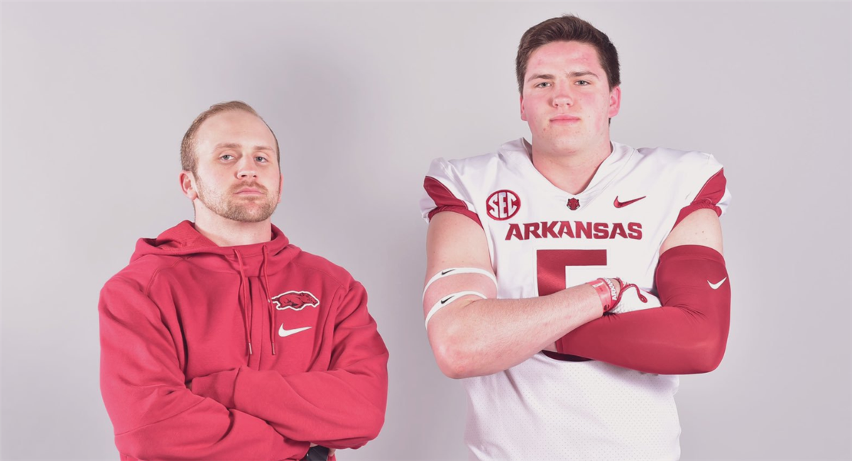 Frazier remains firm, helping Hogs with O-line target