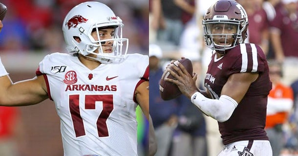 How to watch Texas A&M vs. Arkansas, streaming link