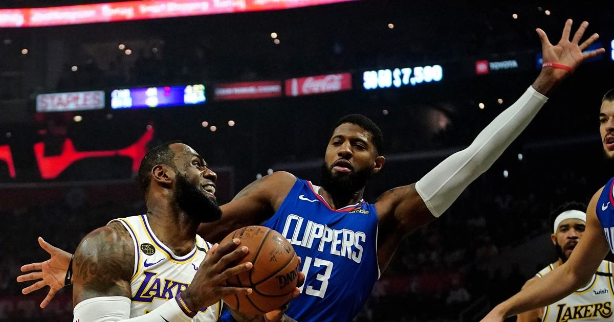 "Paul George says he ""feels great again"" prior to NBA restart"