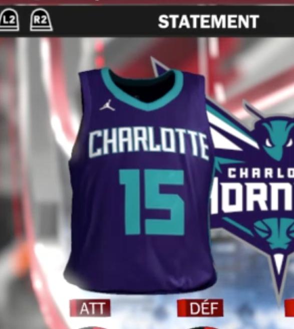 cb15400b3f9 Alternate NBA Jersey Leaked through NBA 2K18
