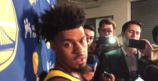 Warriors players react to 124-109 win over Suns