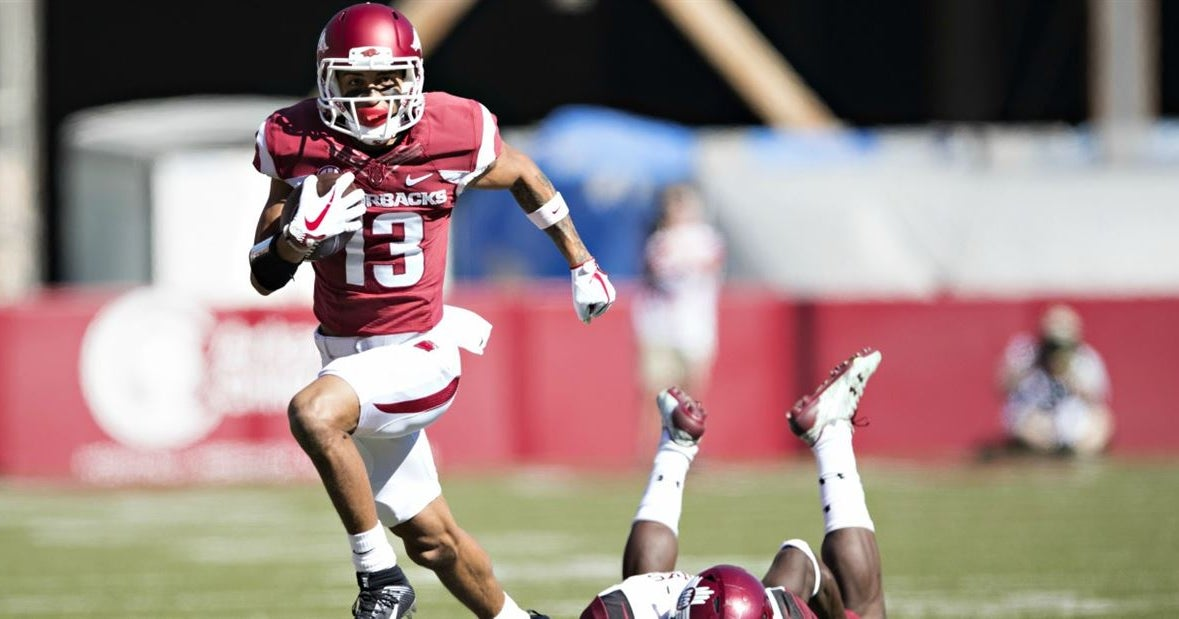Report: Hogs WR Deon Stewart out for season with major injury