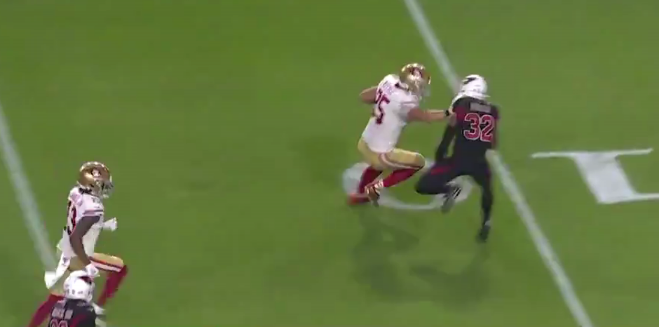 George Kittle Wills Way To Endzone For 49ers Touchdown