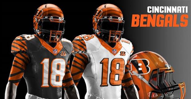 timeless design 69cb4 0f8c8 Redesigned uniforms for every NFL team in 2019
