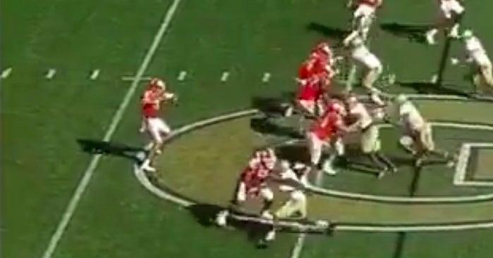 Watch Clemson Punter Plays Qb In Blowout Of Georgia Tech