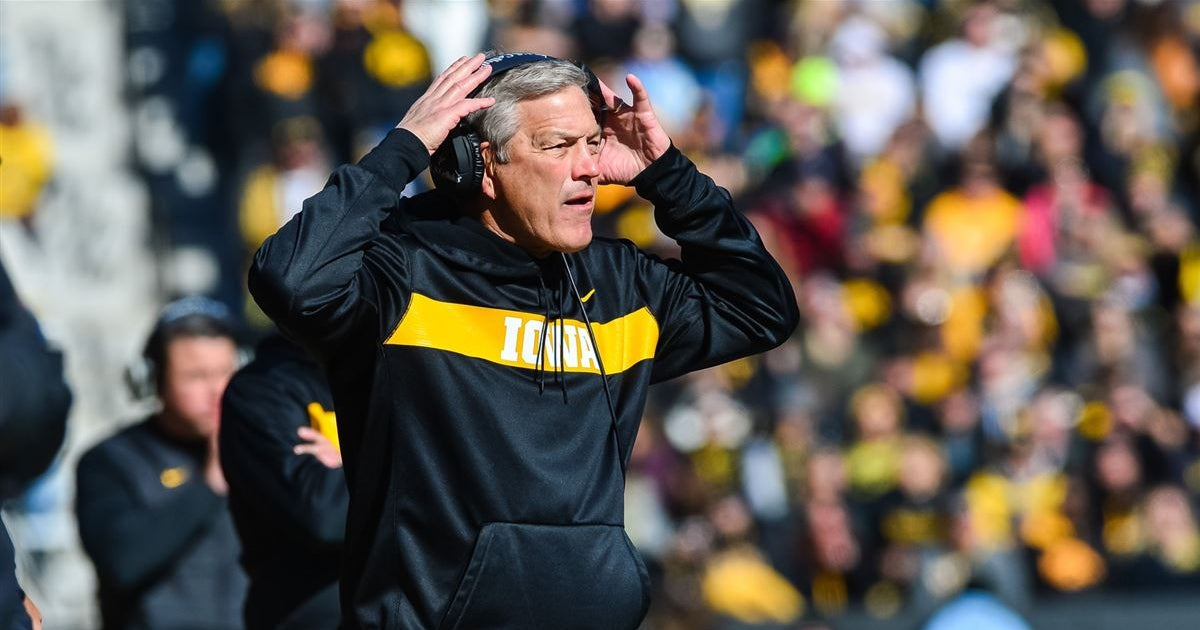 Iowa releases first official depth chart of the season