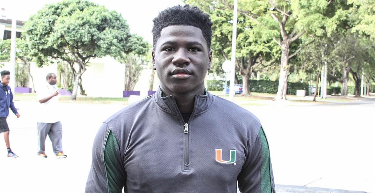 Multiple Targets Visiting For Miami's Spring Game