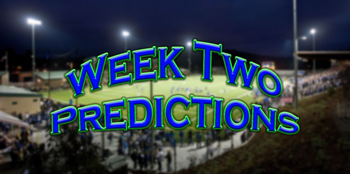2019 Predictions: Week Two