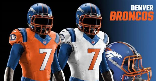 Redesigned uniforms for all 32 NFL teams in 2018 70cdd30f4
