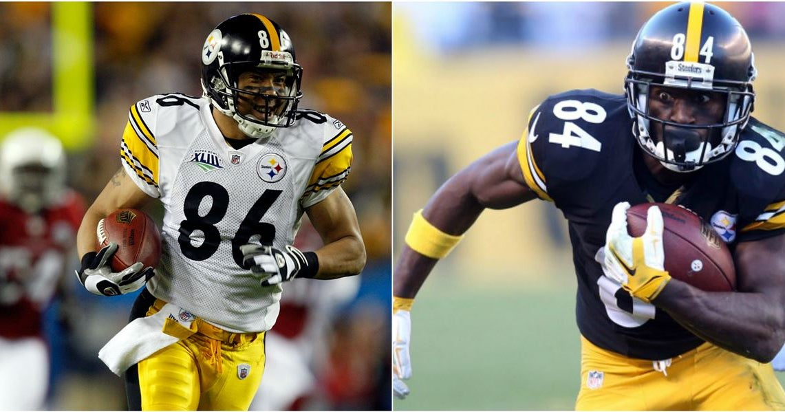 The Greatest Receivers In Steelers History