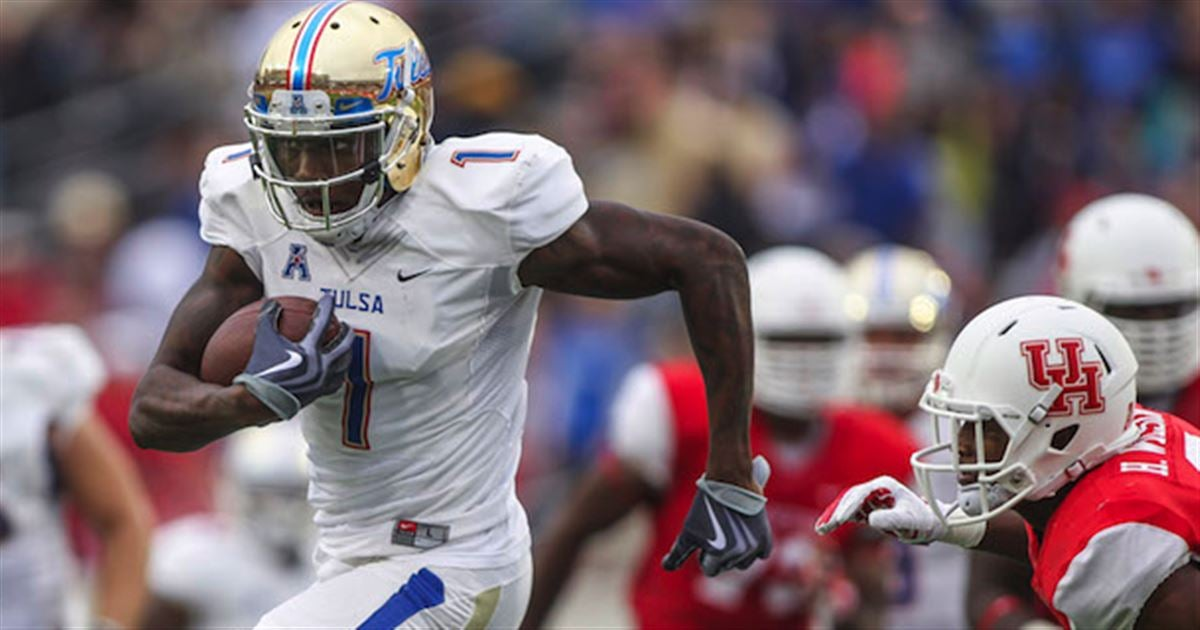 Nike jerseys for wholesale - Panthers to meet with Tulsa WR Keyarris Garrett