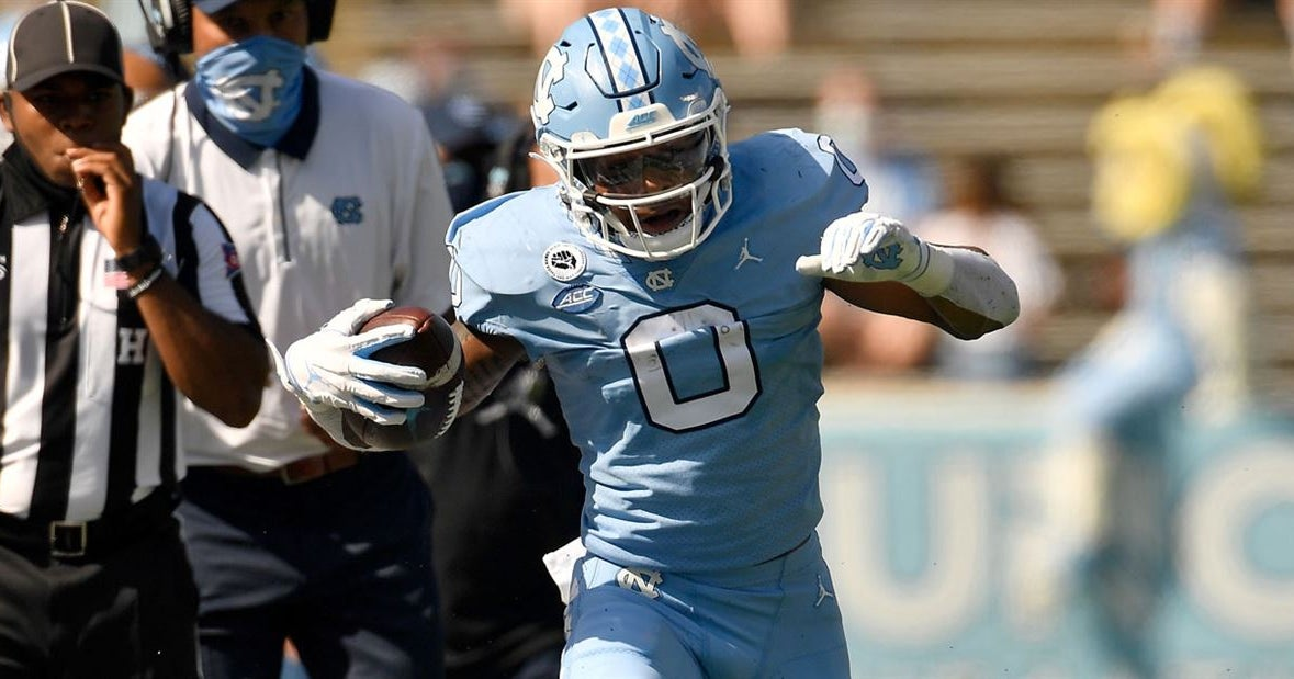 UNC WR Emery Simmons Making The Most Of Opportunities