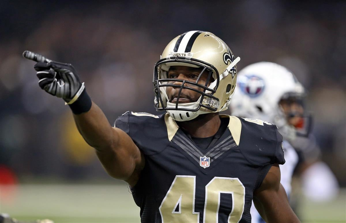 Delvin Breaux posts update on recovery