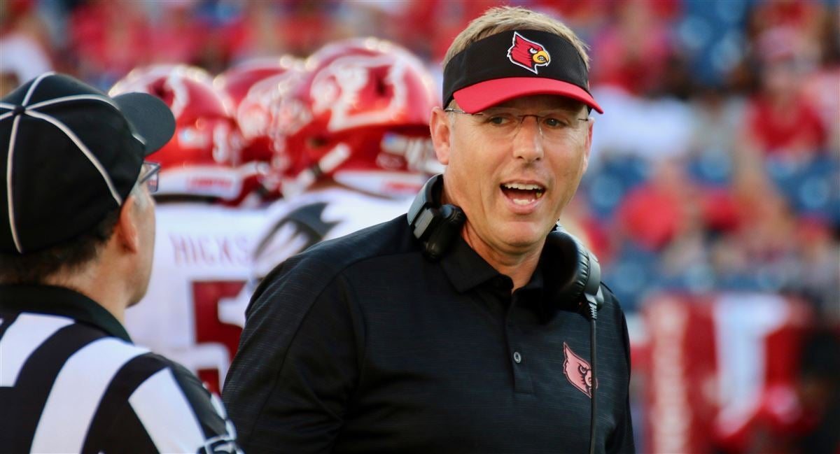 Louisville's Scott Satterfield named ACC Coach of the Year