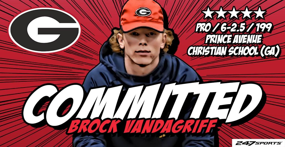 Five-star QB Brock Vandagriff commits to Georgia