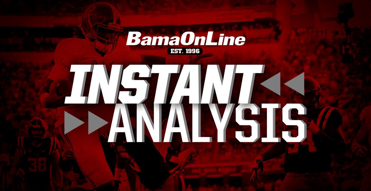 Instant Analysis: Thursday