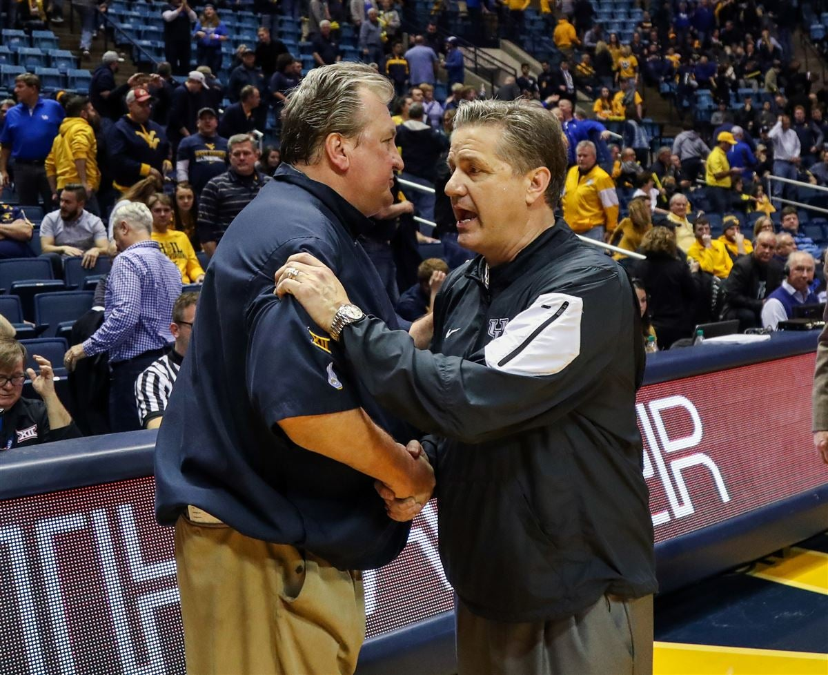 Calipari counts WVU as one of college basketball's contenders
