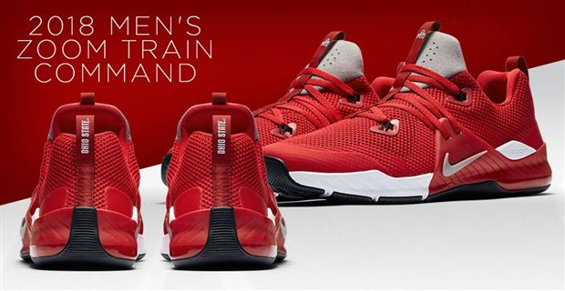 The New Ohio State Zoom Train Command Shoes Released Today Photo Nike