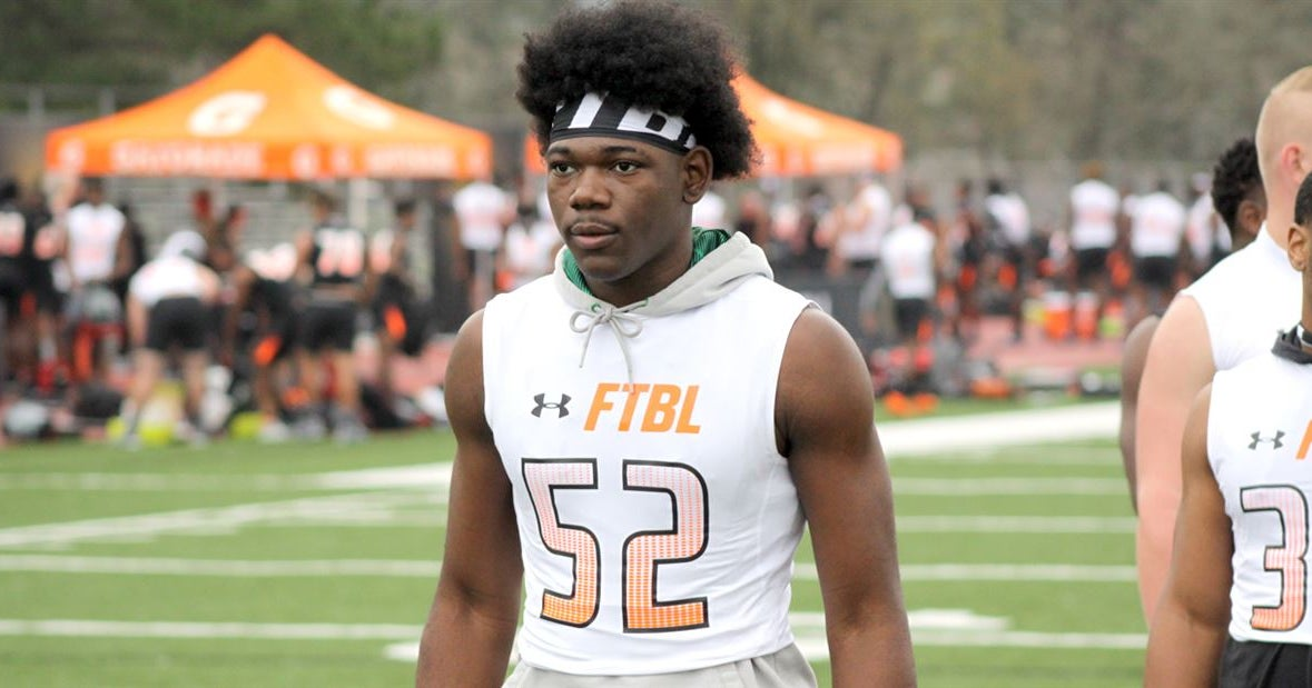 Updated official visit schedule for tight end Allen Horace