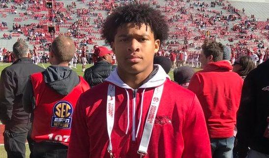 Johnson commits to Arkansas