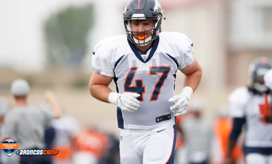 buy online c0acc a1eea Josey Jewell addresses whether he's a LB fit for Fangio's scheme