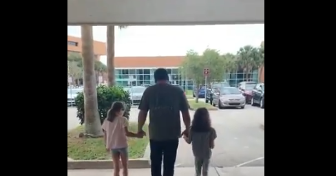 Ryan Newman: Wife posts video walking out Daytona hospital