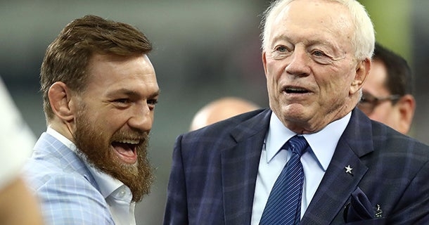 Connor McGregor wants MMA event at AT&T Stadium