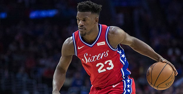 the latest cc269 32f65 Report: Lakers tried to trade for Jimmy Butler