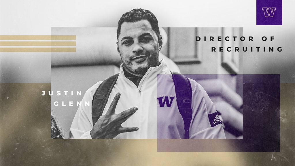 Justin Glenn named director of recruiting for Husky football
