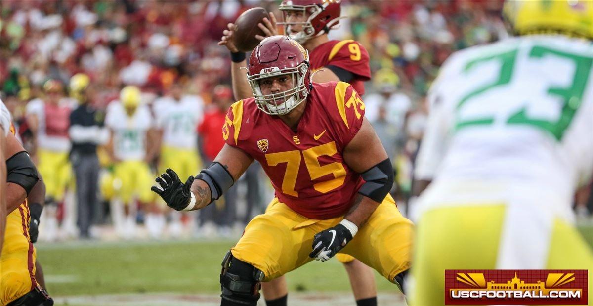 USC offensive lineman Alijah Vera-Tucker to enter NFL Draft