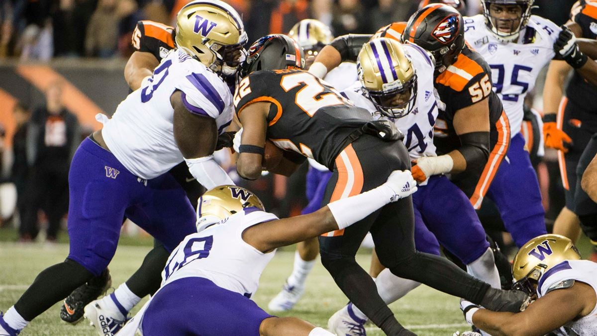 Washington gets defensive in win over Oregon State