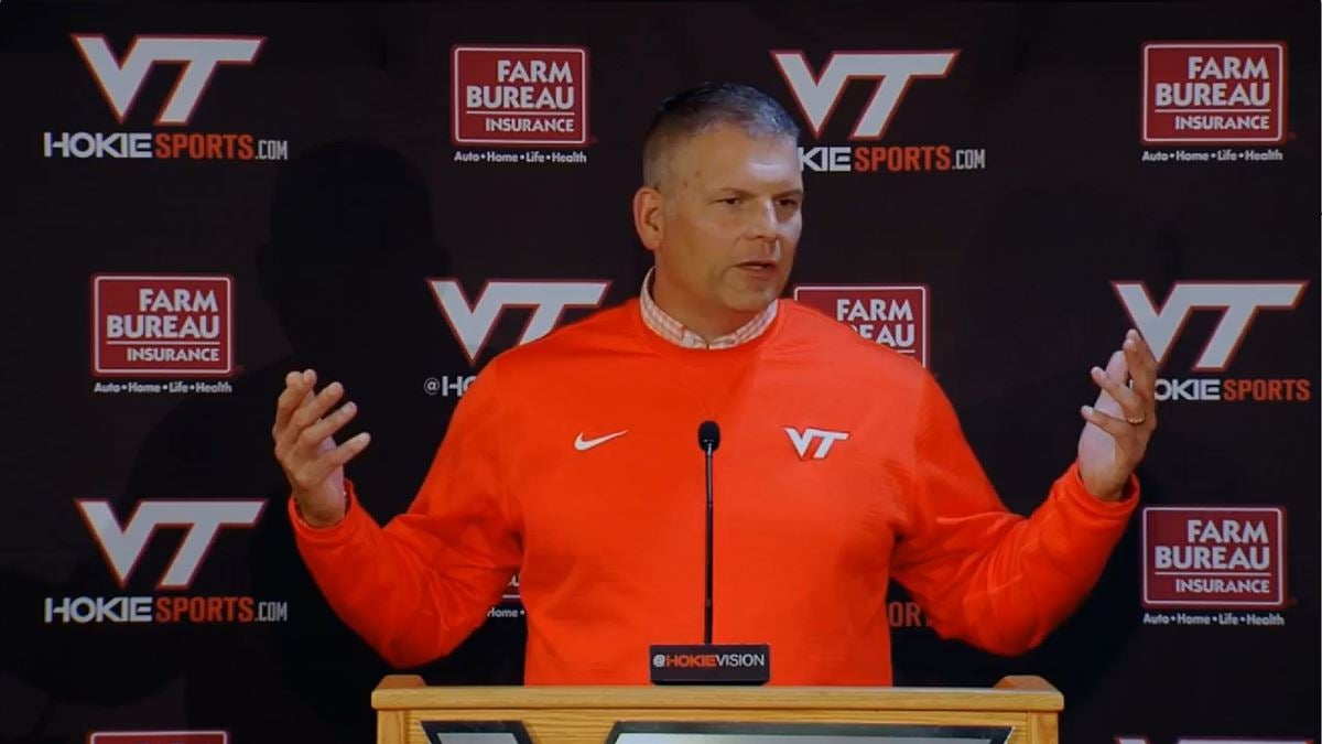 Virginia Tech Football Notebook First Media Session Of 2018 19