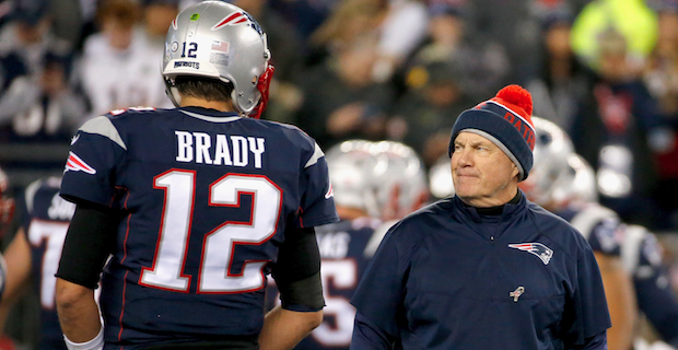 Tom Brady says he's 'lucky' to be coached by Bill Belichick
