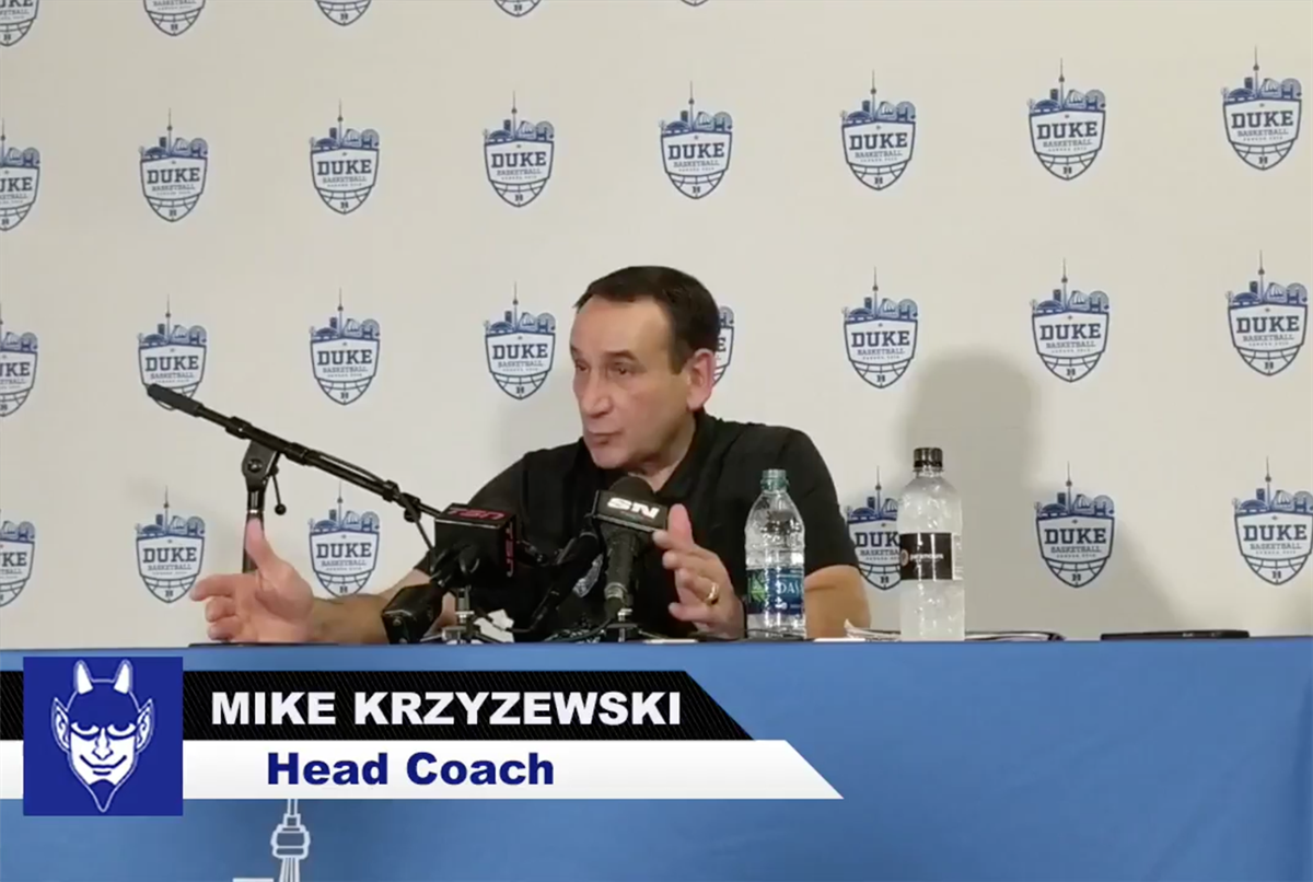 Coach K says Zion Williamson is a really special player