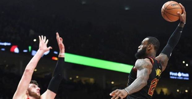 78301cfcb91e Twitter goes crazy over LeBron James  dunk on Jusuf Nurkic
