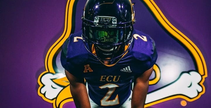 Crump ready to lock up receivers at ECU