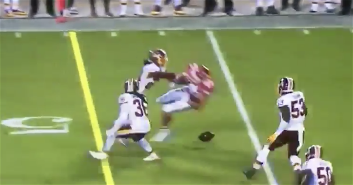 Video Josh Norman Levels Travis Kelce