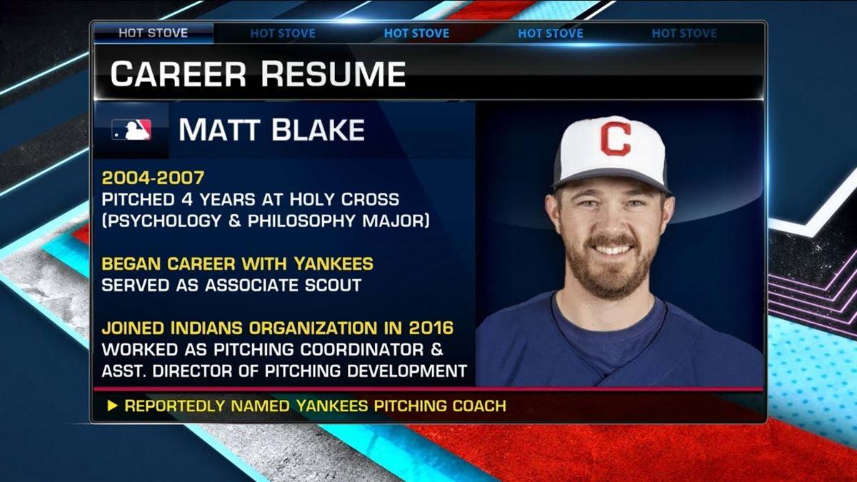 Weekly Storylines Recap: Yankees hire Matt Blake from Indians