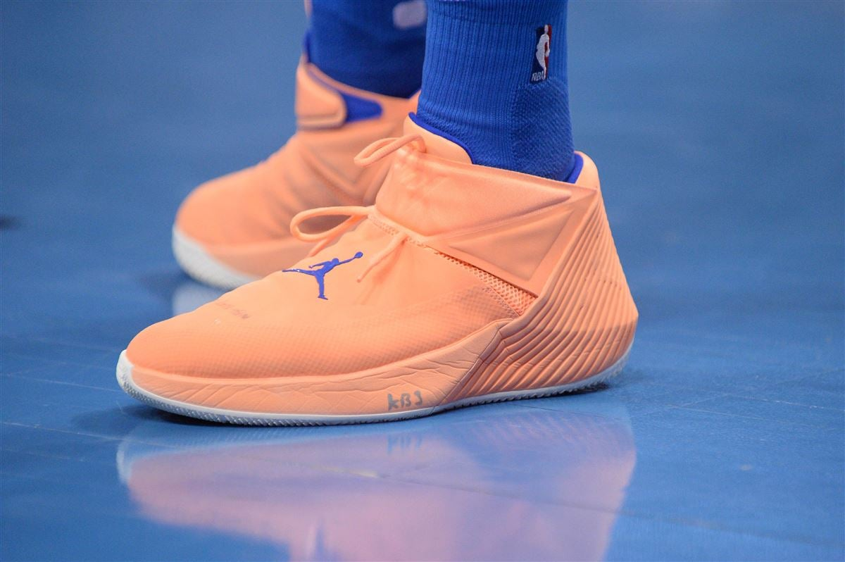 Here s why Russell Westbrook writes  KB3  on his Jordan sneakers cc7cfc2d5
