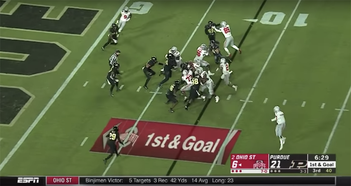 Breaking Down Ohio State S Red Zone Struggles Against Purdue