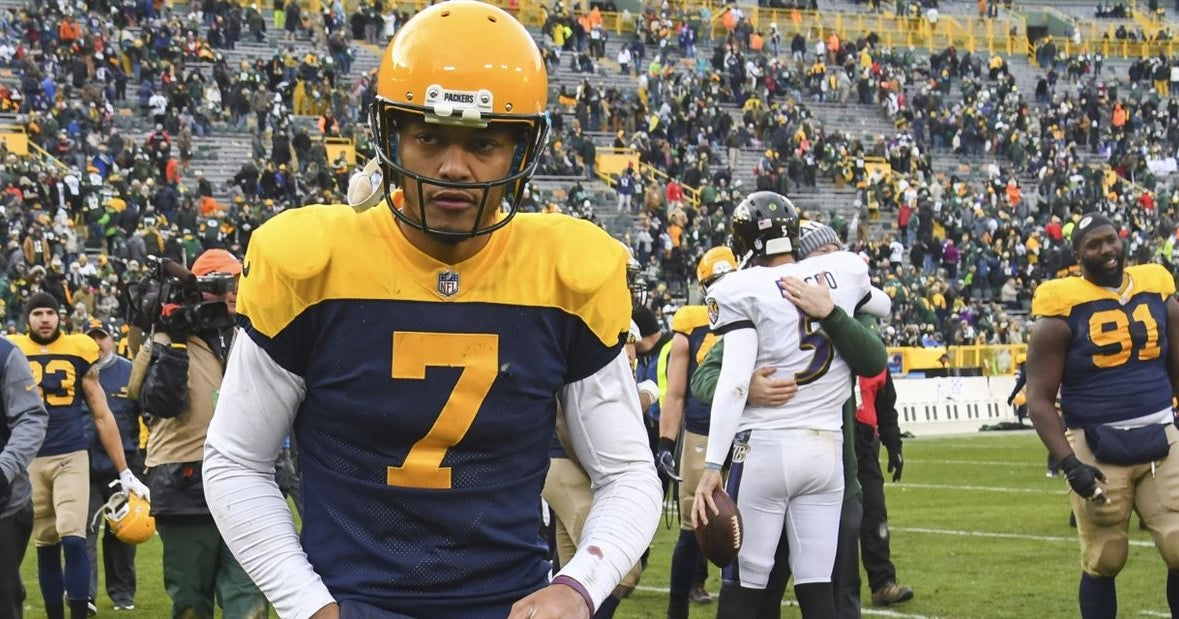 sale retailer 1fdea 30a29 Packers' throwback uniforms ranked among worst in NFL