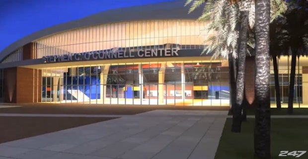 O Connell Center Renovations : Video plans of the o connell center renovation released