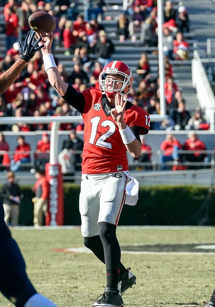 Brice Ramsey, Georgia, Quarterback