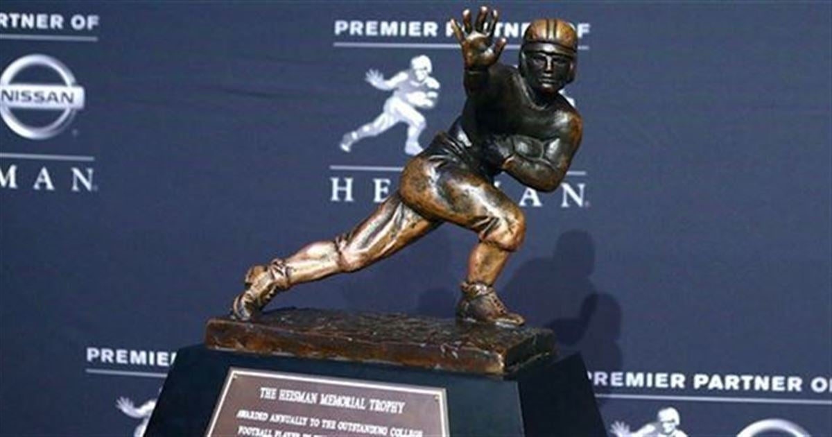 Top Heisman Candidates 2018 >> Top 20 Heisman Trophy candidates for 2018 based on odds