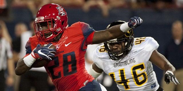 Branden Leon Arizona Wildcats Football Jersey - Red