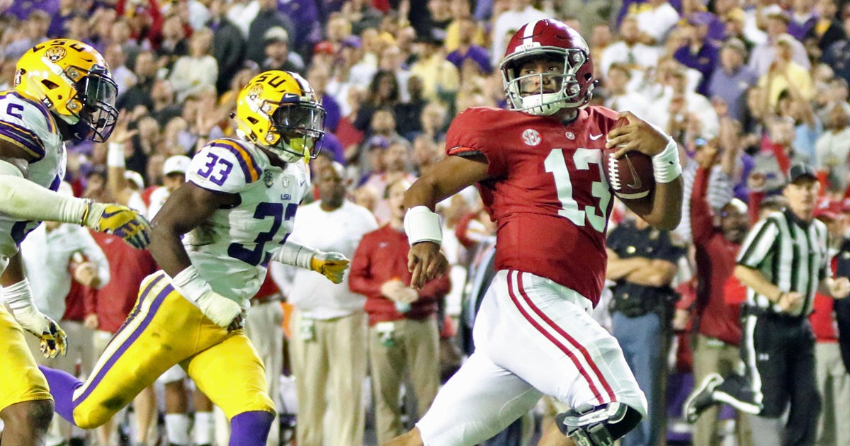 Finebaum not sure if LSU's ranking holds before Alabama game