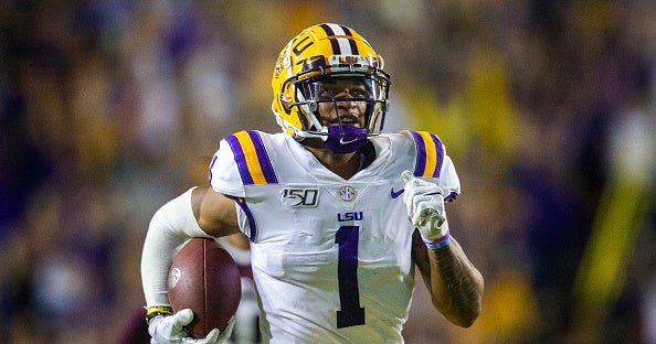 Ja'Marr Chase goes No. 6 to Eagles in latest CBS Sports Mock Draft